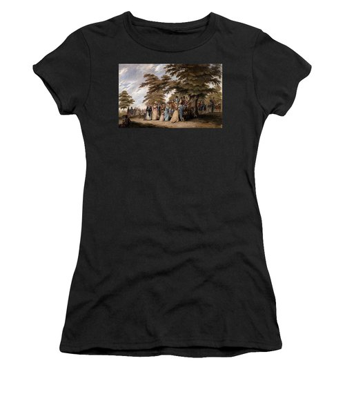 An Airing In Hyde Park, 1796 Women's T-Shirt (Athletic Fit)