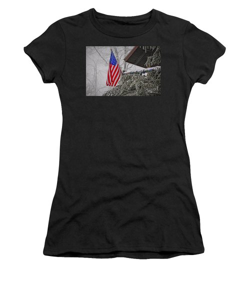An American Christmas Women's T-Shirt