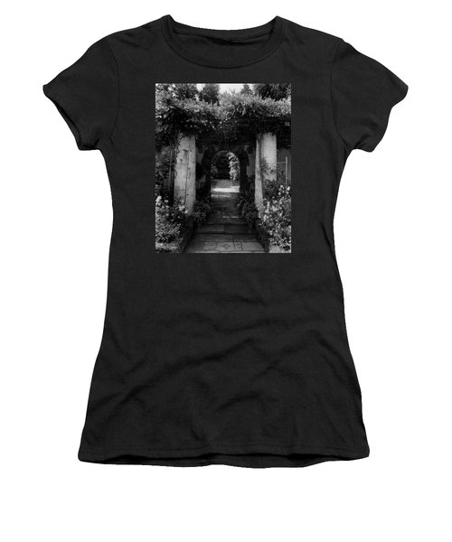 An Archway In The Garden Of Mrs. Carl Tucker Women's T-Shirt