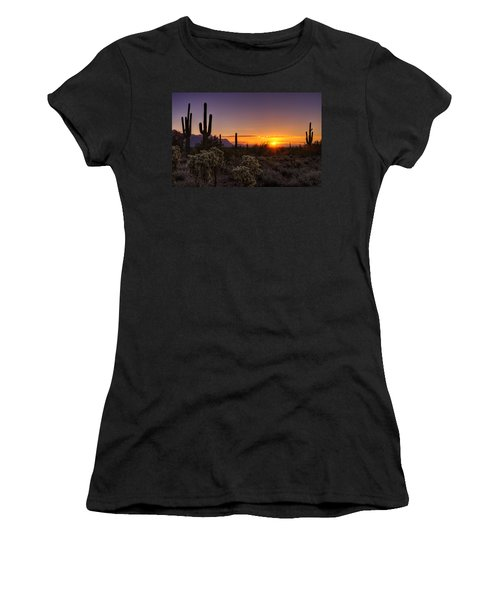 An Arizona Winter Sunrise Women's T-Shirt