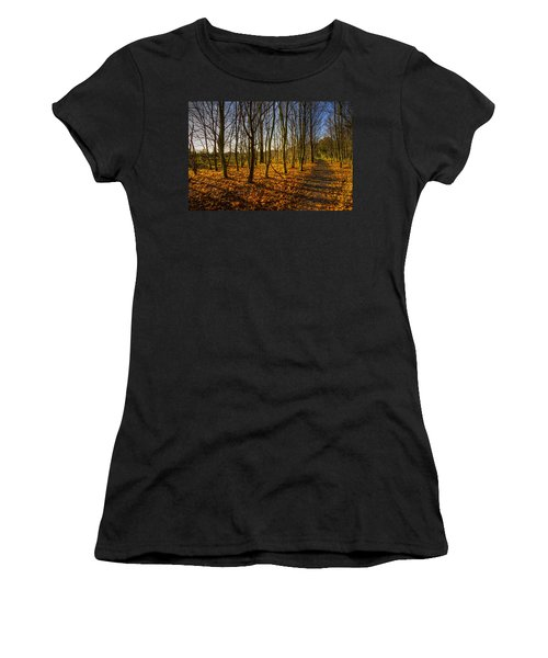 An Autumn Walk Women's T-Shirt
