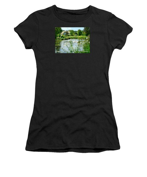 An English Cottage Women's T-Shirt (Athletic Fit)