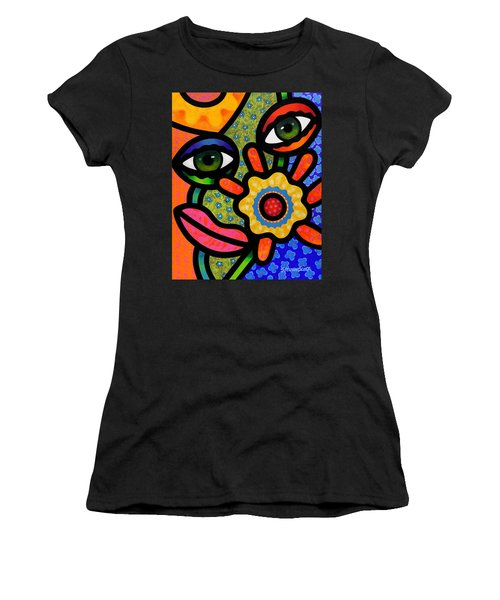 An Eye On Spring Women's T-Shirt (Athletic Fit)