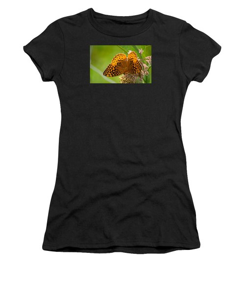 Great Spangled Fritillary Women's T-Shirt (Athletic Fit)