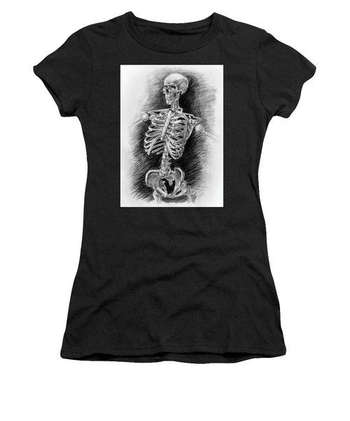 Anatomy Study Mister Skeleton Women's T-Shirt