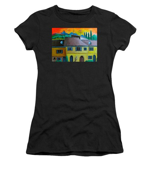 Ancient Volterra Wired Women's T-Shirt (Junior Cut) by Victoria Lakes