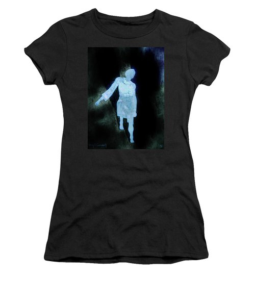 Women's T-Shirt (Junior Cut) featuring the photograph Oh That I Were An Angel  by Larry Campbell