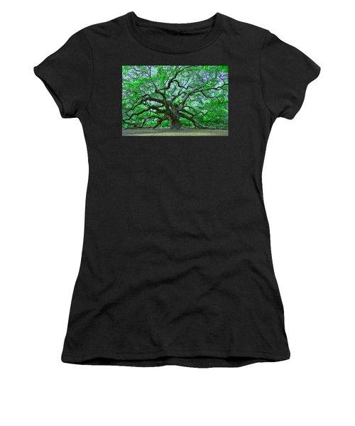 Angel Oak Women's T-Shirt (Junior Cut)