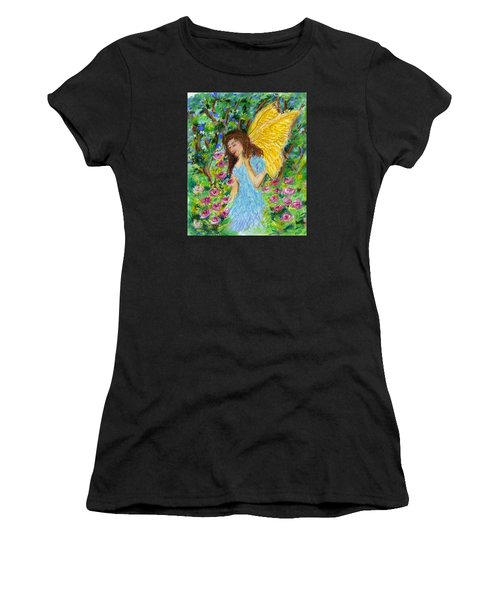 Angel Of The Garden Women's T-Shirt (Athletic Fit)