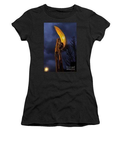 Angel Of The Morning Women's T-Shirt (Junior Cut) by Steve Purnell