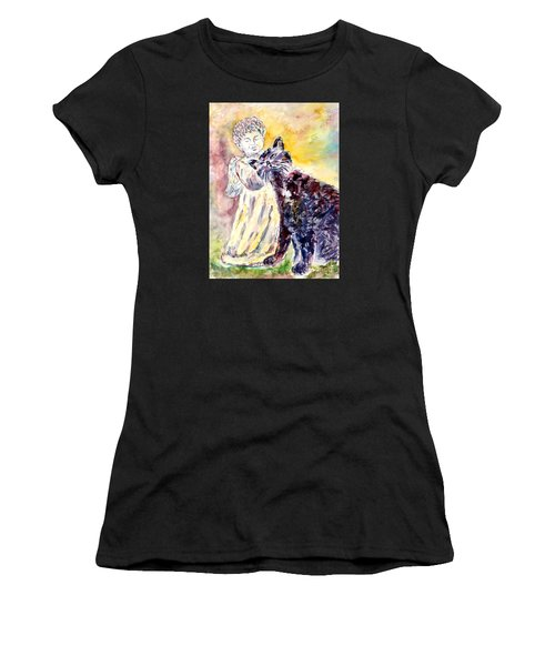 Angel Or Demon Women's T-Shirt (Athletic Fit)