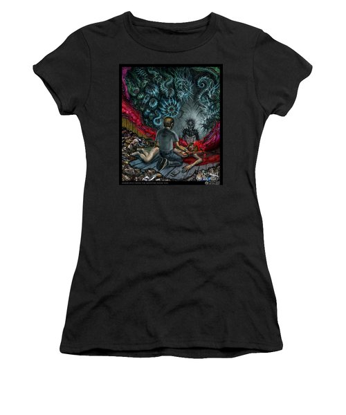 Anger Only Feeds The Monster Inside You Women's T-Shirt