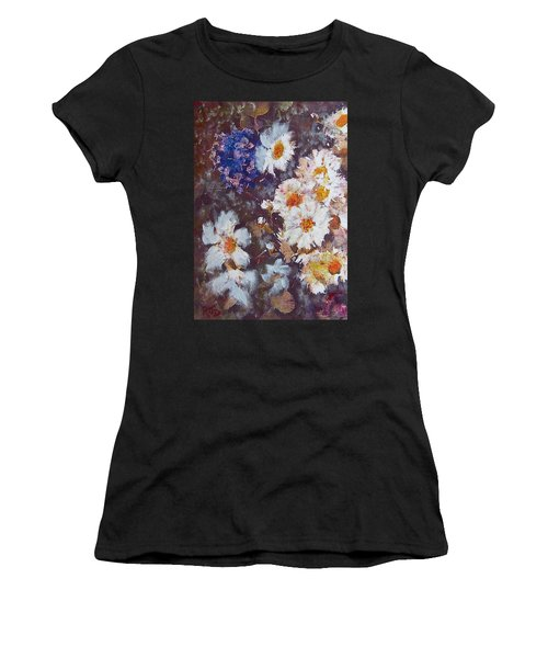 Another Cluster Of Daisies Women's T-Shirt (Athletic Fit)