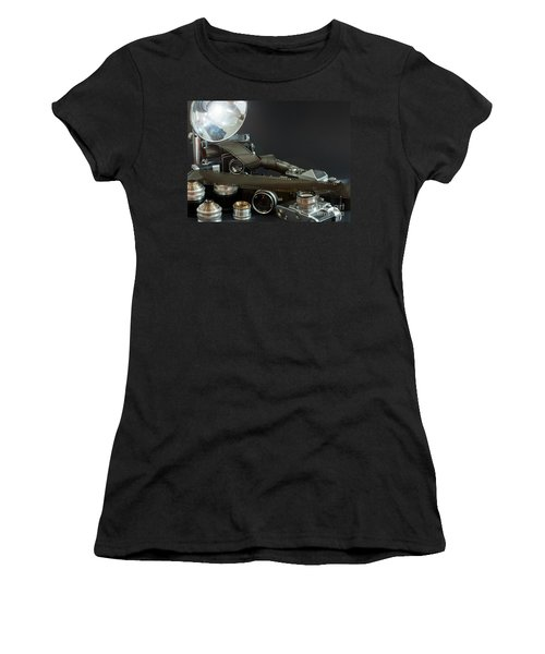 Antique Cameras Women's T-Shirt (Athletic Fit)