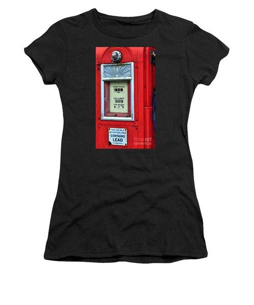 Antique Gas Pump Women's T-Shirt (Athletic Fit)