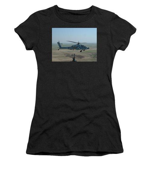 Apache Gray Women's T-Shirt (Athletic Fit)