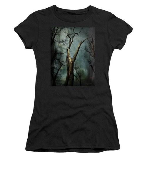 Appeal To The Sky Women's T-Shirt (Junior Cut) by Cynthia Lassiter