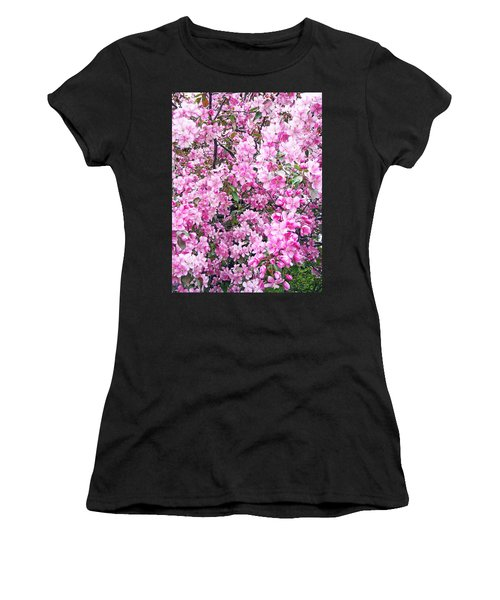Apple Blossoms Women's T-Shirt (Athletic Fit)
