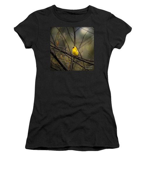 April Showers In Square Format Women's T-Shirt