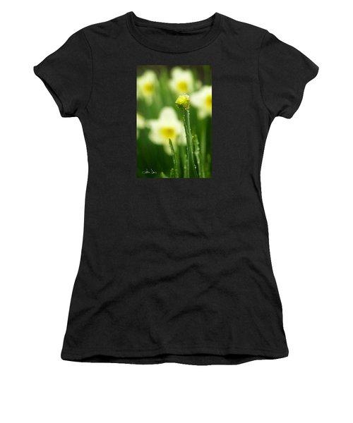 April Showers Women's T-Shirt (Junior Cut) by Joan Davis