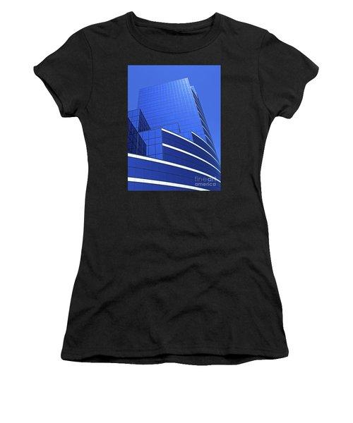 Architectural Blues Women's T-Shirt (Athletic Fit)