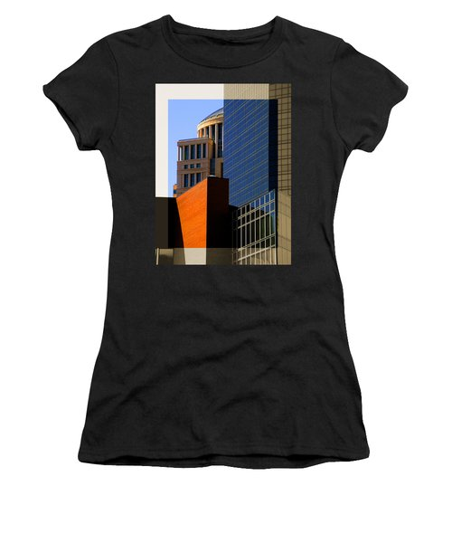 Architectural Stone Steel Glass Women's T-Shirt