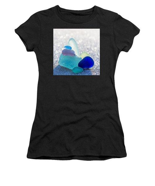 Arctic Peaks Women's T-Shirt (Athletic Fit)