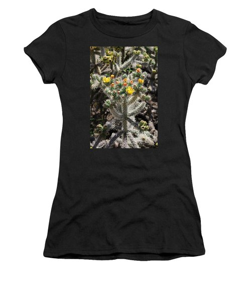 Arizona Cactus Women's T-Shirt (Athletic Fit)