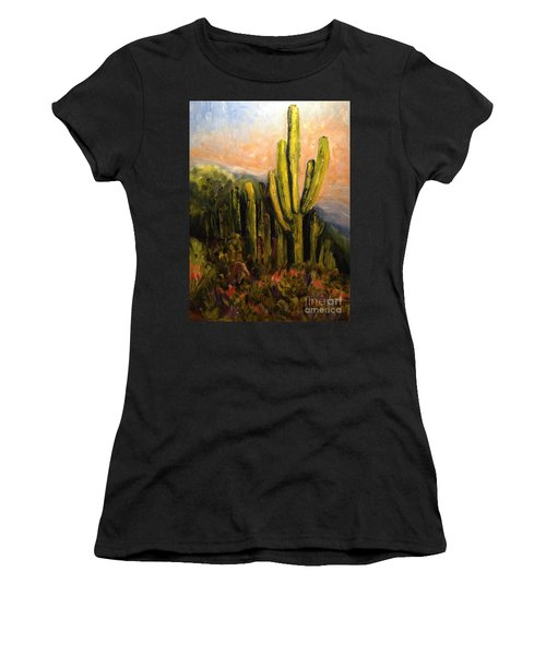 Arizona Desert Blooms Women's T-Shirt