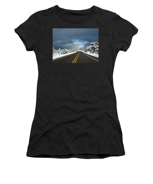 Arizona Snow 1 Women's T-Shirt (Athletic Fit)