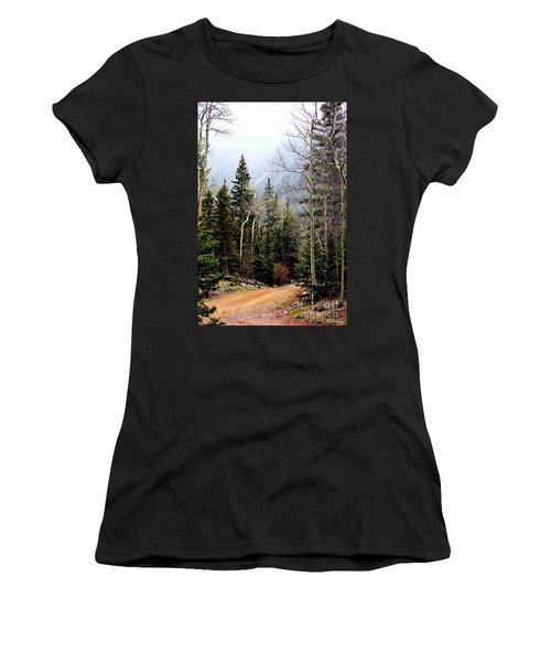 Around The Bend Women's T-Shirt (Athletic Fit)