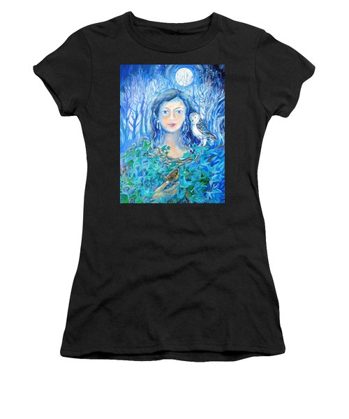Artemis And The Wren- Women's T-Shirt (Athletic Fit)