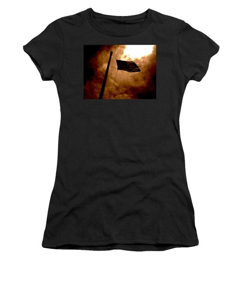 Ascend From Darkness Women's T-Shirt (Junior Cut) by Paulo Guimaraes