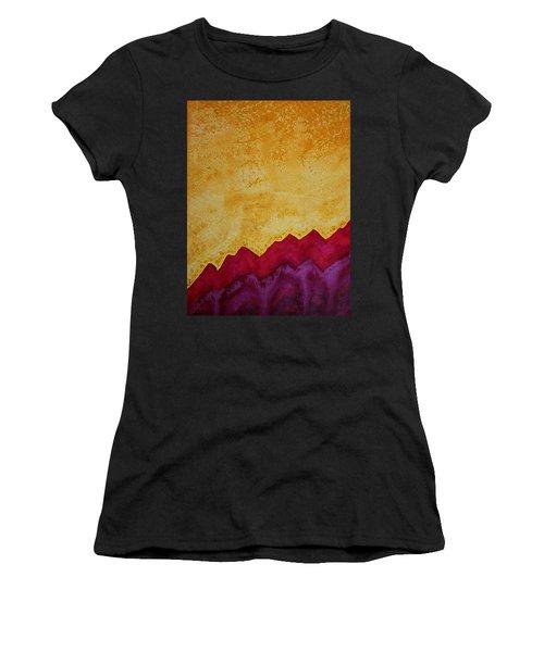 Ascension Original Painting Women's T-Shirt (Athletic Fit)