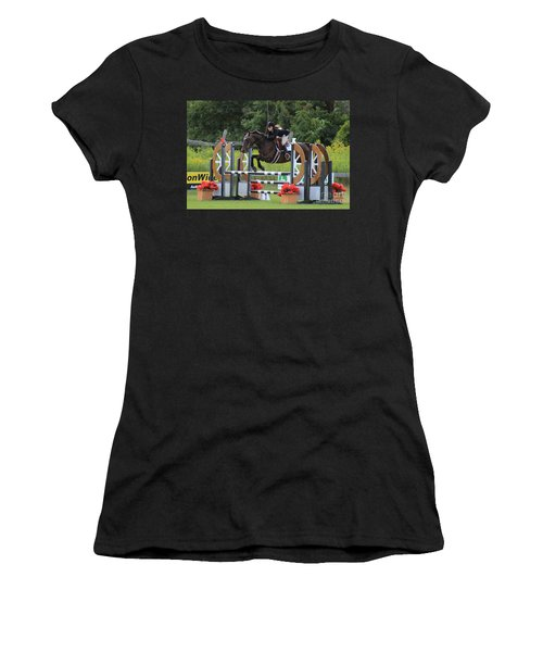 At-su-jumper100 Women's T-Shirt (Athletic Fit)