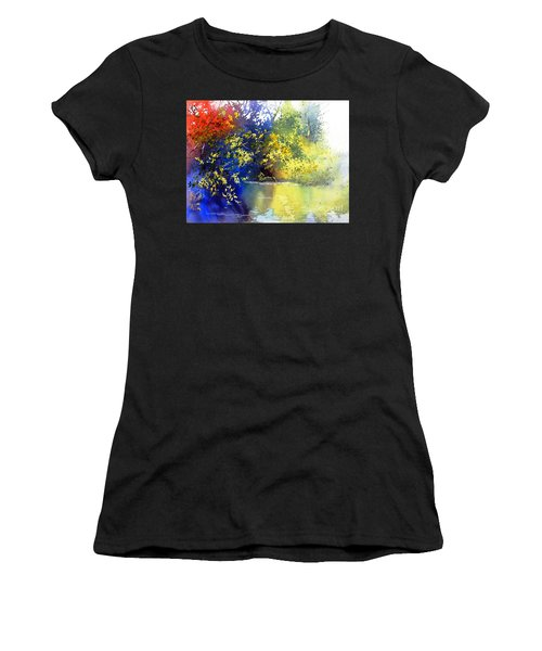 At The Marsh Women's T-Shirt (Athletic Fit)