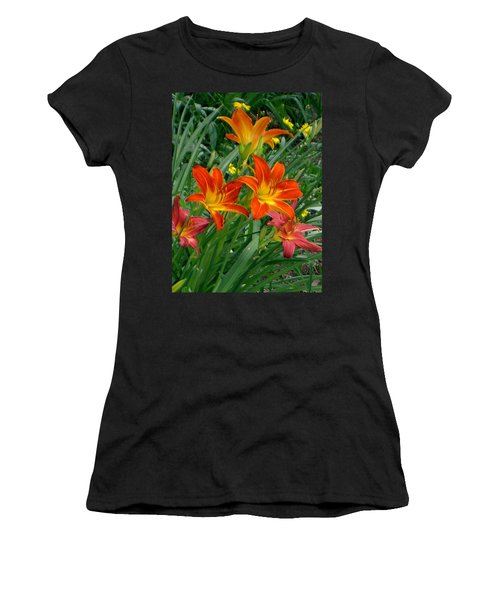 Lilies Galore Women's T-Shirt (Athletic Fit)
