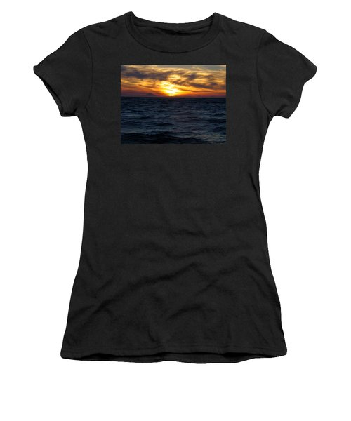 Women's T-Shirt (Junior Cut) featuring the photograph Augustine Sleeps by Jeremy Rhoades