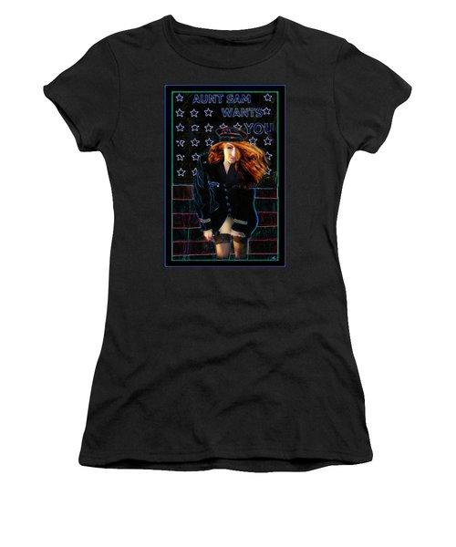 Aunt Sam Women's T-Shirt
