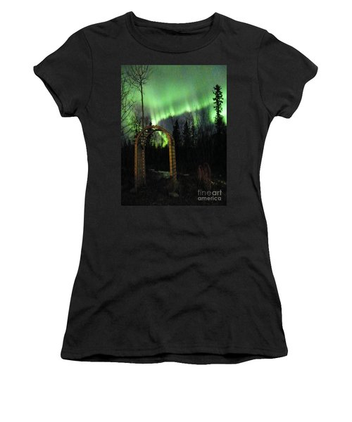 Auroral Arch Women's T-Shirt (Junior Cut) by Brian Boyle