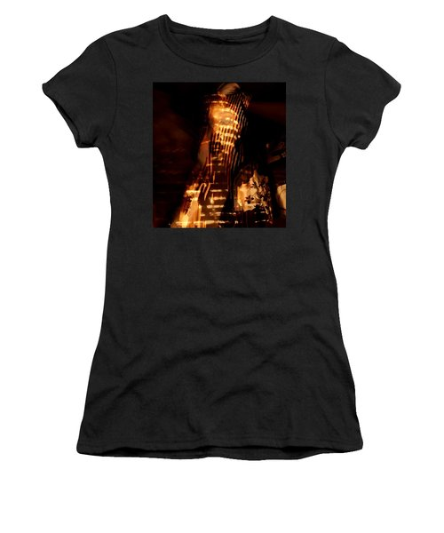 Women's T-Shirt (Junior Cut) featuring the photograph Aurous by Jessica Shelton