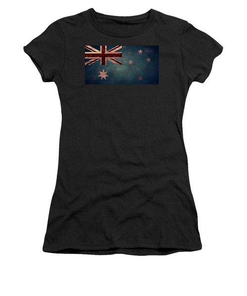 Australian Flag I Women's T-Shirt (Athletic Fit)