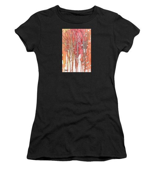 Autumn Abstract No.1 Women's T-Shirt (Athletic Fit)