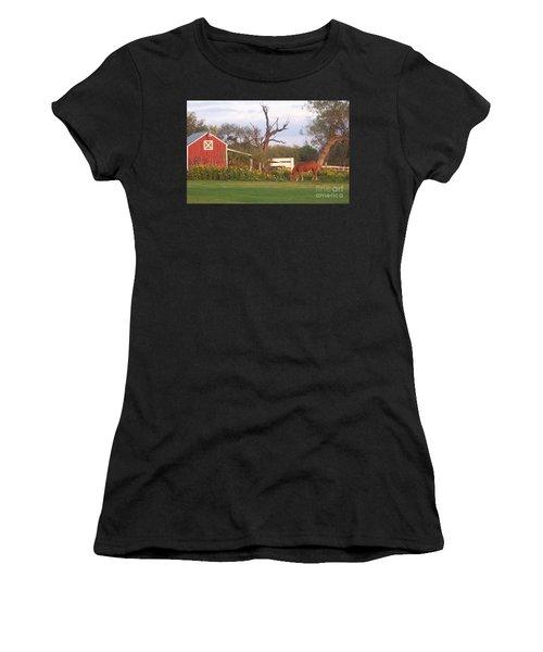 Autumn Abundance Women's T-Shirt (Athletic Fit)