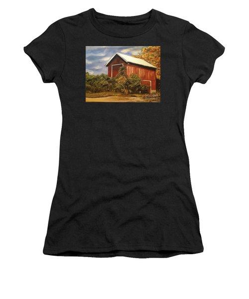 Autumn - Barn - Ohio Women's T-Shirt