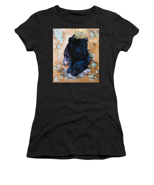 Autumn Bear Women's T-Shirt (Athletic Fit)