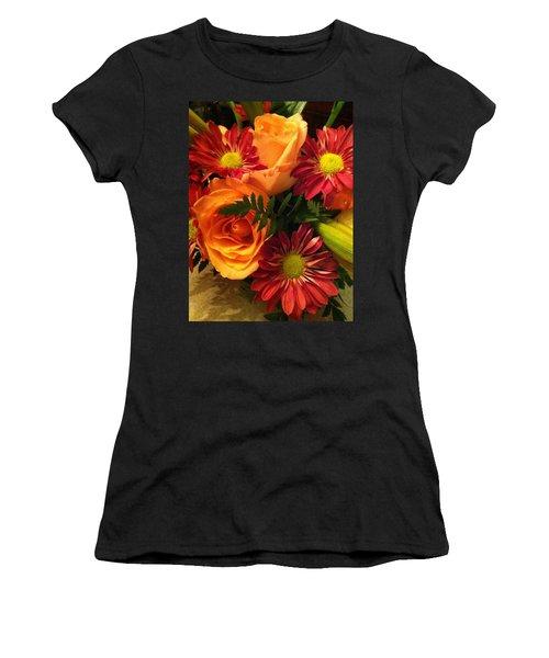 Autumn Bouquet Women's T-Shirt (Athletic Fit)