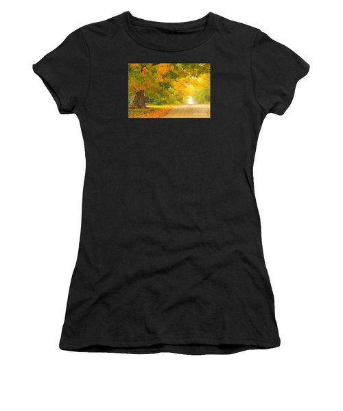 Autumn Cascade Women's T-Shirt
