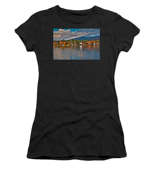 Autumn In Melvin Village Women's T-Shirt (Athletic Fit)