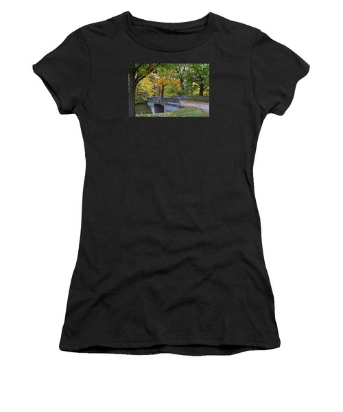 Autumn In The Park Women's T-Shirt (Athletic Fit)